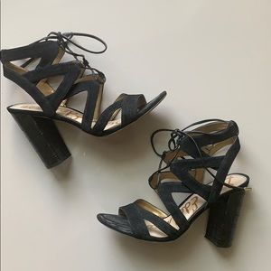 Sam Edelman lace up booties
